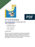 EL VIAJE DE BABAR.doc