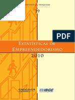 Estatística de Empreendedorismo