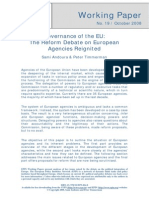 S_Andoura - P_Timmerman - The Reform Debate on European Agencies Reignited