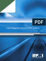 PMP Handbook 2013
