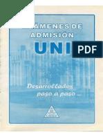 Examenes de Admision Uni Parte 1