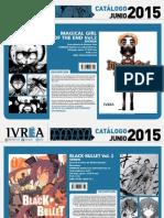 Proximas Novedades Ivrea - Junio 2015