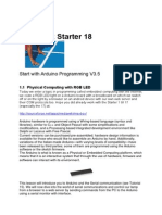 Tutor Starter 18.5 Arduino