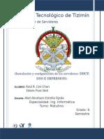 Instalacion y Configuracion de Servidor DHCP, DNS E IMPRESION