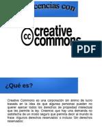Licencias Creative Commons CC