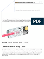 Ruby Lazer - Definition,...Tages and Disadvantages