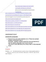 TOEFL Websites