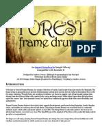 Forest Frame Drums Manual