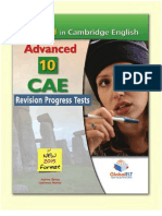 Revision Progress Tests With Keys