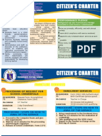Pcs Citizens Charter