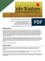 Koto Nation Documentation