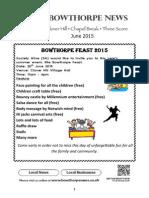 Bowthorpe News June 2015