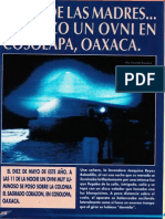 El Dia de Las Madres... Aterrizo Un Ovni en Cosolapa, Oazaca. R-080 Nº033 - Reporte Ovni