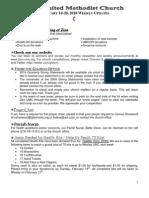 20100214 Announcements Print