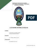 economía informal bolivia
