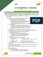 Avaliação de Desempenho - 01-Windows 8