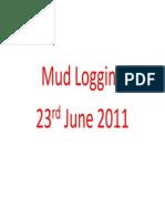 Mud Logging Presentation
