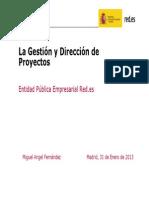 La Gestión y Dirección de Proyectos