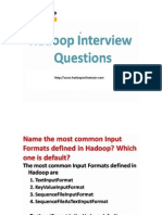 Hadoop Interview Questons PPT