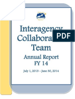 Final FY14 ICT Annual Report