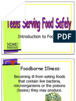 6  visuals - introduction to food safety