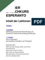 paul lindner - kleiner sprachkurs esperanto