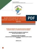 AMC N° 002-2015 ADQUISICION DE INSUMOS