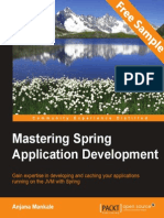 Mastering Spring Application Development - Sample Chapter