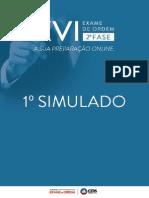 1495351 Simulado Oab Xvi Exame Dir Trabalho