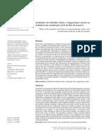 Acidentes de Trabalho Fatais e Desproteção Social Na Industria Da Const. Civil No RJ