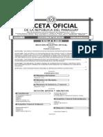 Gaceta 59 ReglamentacionLeyMIPyMEs