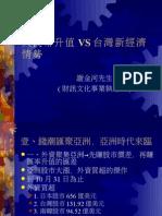 人民幣升值 vs 台灣新經濟 情勢