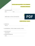 anamnesishistoriaclnicadeldesarrolloydelaprendizaje-120422112201-phpapp01