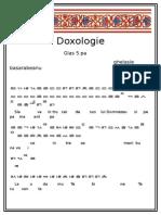 Doxologie Glas 5 Ghelasie