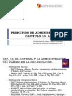 Principios de Administración. Unidad 10. 2013