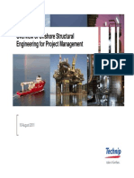 Offshore Structural Engineering to PM