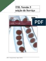 itil v3 transicao de servico 2015