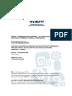 Rm_066_2012 Planes de Estudio - Formación Profesional Técnica y Tecnológica