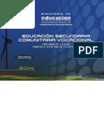 Comunidad y Sociedad2014 - Secundaria