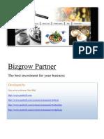 Bizgrow partner for restaurants
