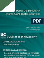 La Aventura de Innovar Power Ponint[1]