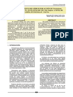 Control Biológico Del Oídium Por Acción de Trichoderma Harzianum y Trichoderma Spp en Plantas de Vid a Niveles de Campo