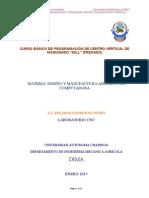 Curso Basico de Programacion y Operacion de Centro de Maquinado