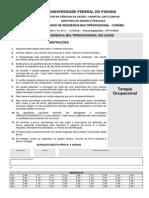 Ufpr 2010 Hc Ufpr Residencia Multiprofissional Terapia Ocupacional Prova