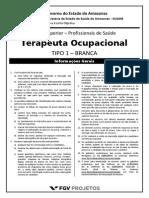 Fgv 2014 Susam Terapeuta Ocupacional Prova