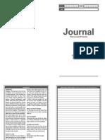 Job Journal