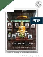 Wisdom Develops Samadhi by Ācariya Mahā Boowa Ñāṇasampanno