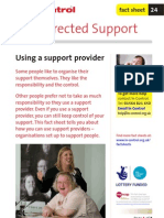 24. Using a Support Provider