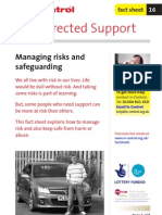 16. Managing Risks and Safeguarding