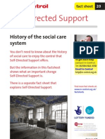 20. History of the Social Care System